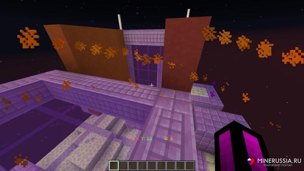 """Карта """"The Hypercube"""" для Майнкрафт 1.14"""