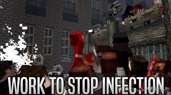 Мод на Зомби Апокалипсис дляМайнкрафт - скриншот 2