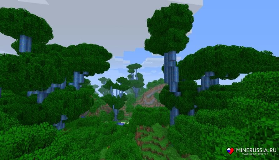Мод на биомы «ExtrabiomesXL» дляМайнкрафт - скриншот 4