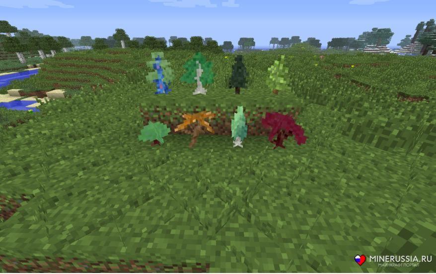 Мод на биомы «ExtrabiomesXL» дляМайнкрафт - скриншот 1