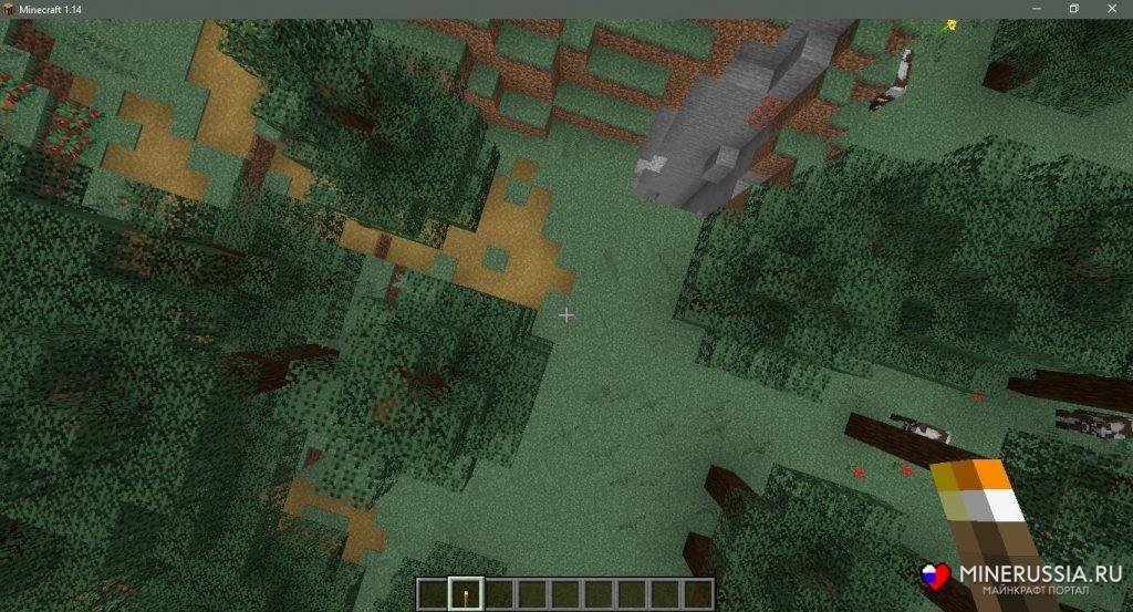 Сид на таёжную деревню в Майнкрафт1.15.1/1.14.4 - скриншот 6