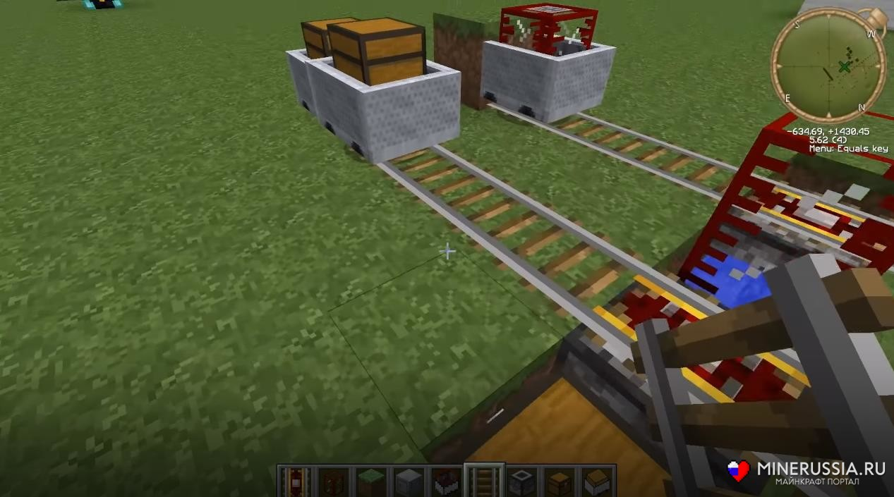 "Мод на реальсы ""Railcraft"" для Майнкрафт 1.12.2/1.7.10"