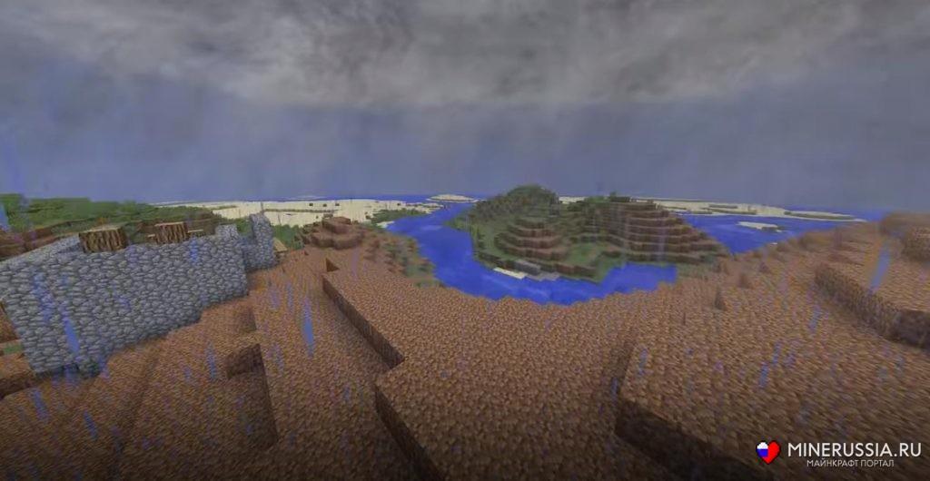 Мод напогоду, шторм иторнадо «Weather 2» 1.12.2/1.7.10 - скриншот 2