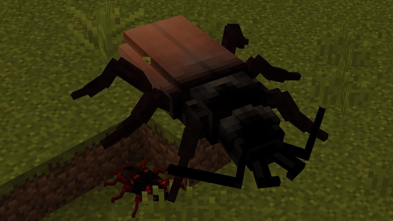 Мод на насекомых «The Erebus» - скриншот 2