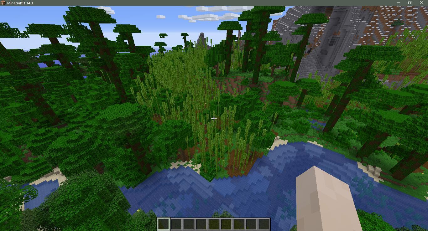 майнкрафт 1 9 0 ключ для генирації світу джунгли #6