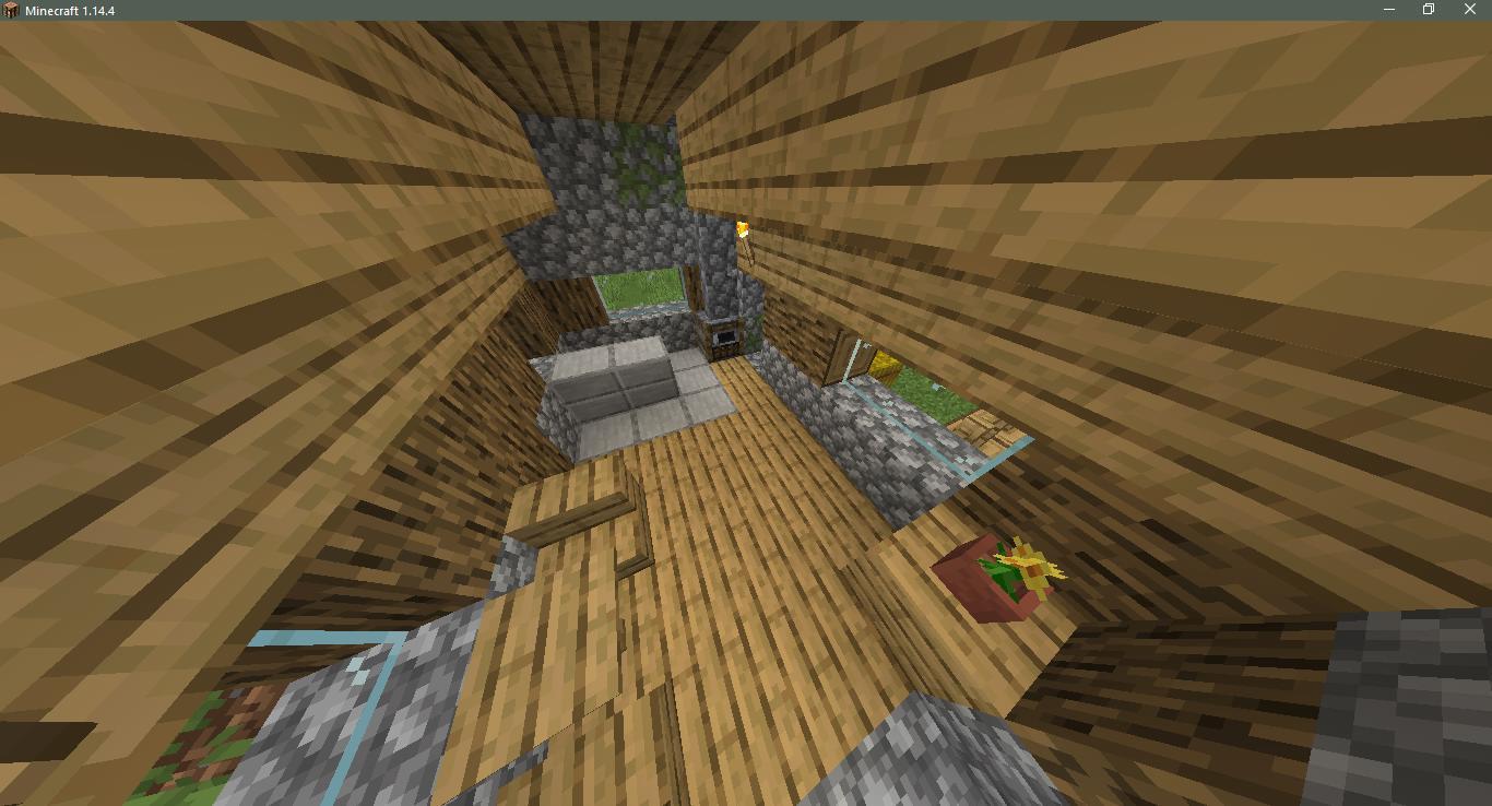Сид на деревню с церковью - скриншот 3