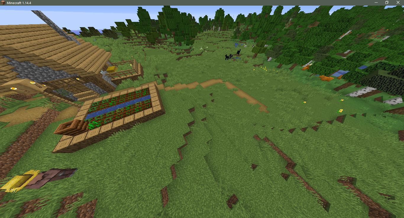 Сид на деревню с церковью - скриншот 4