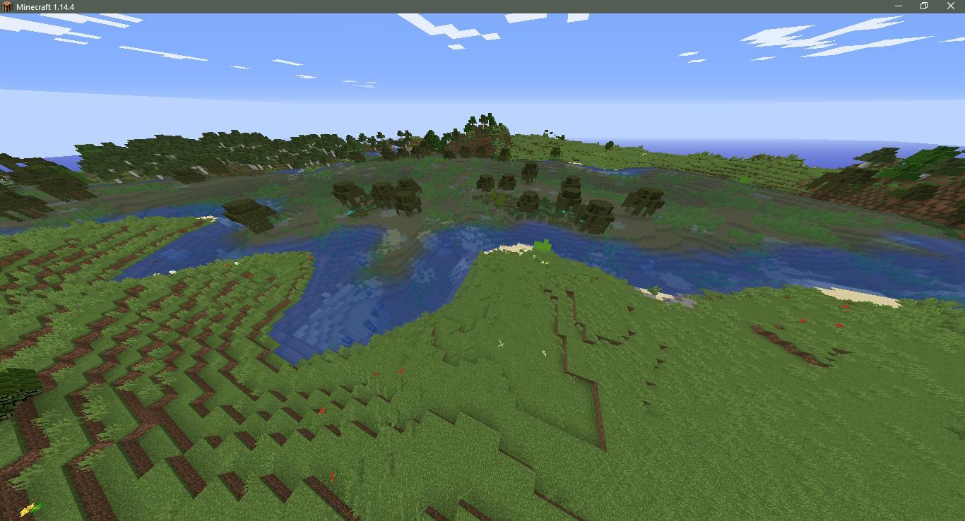 Сид на деревню с церковью - скриншот 7