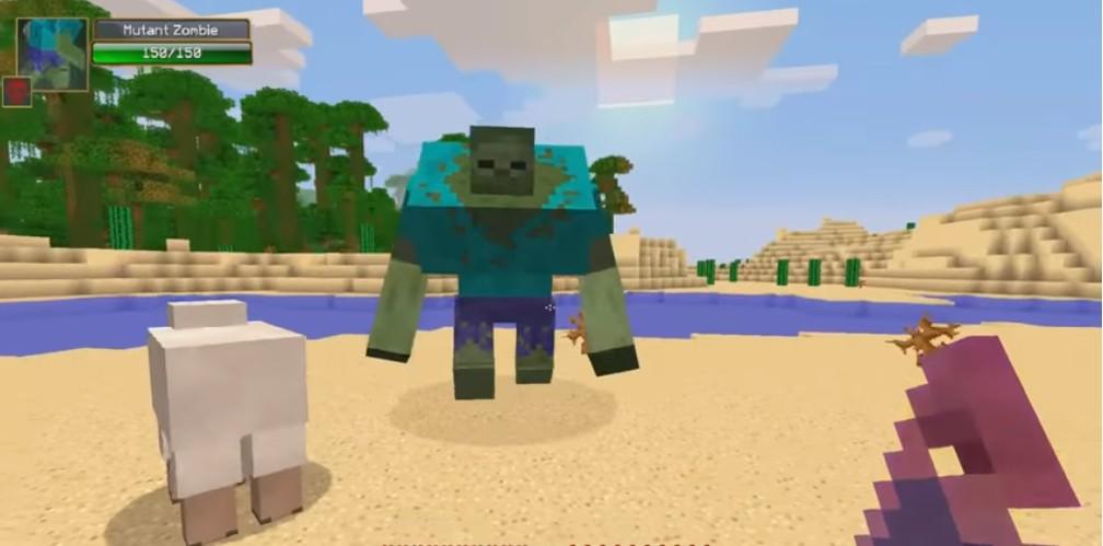Мод Mutant Creatures - скриншот 3