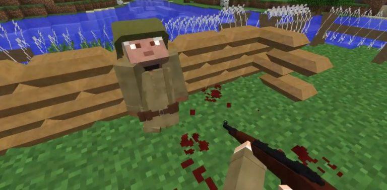 Мод Call ToBattle 2— Война вМайнкрафт