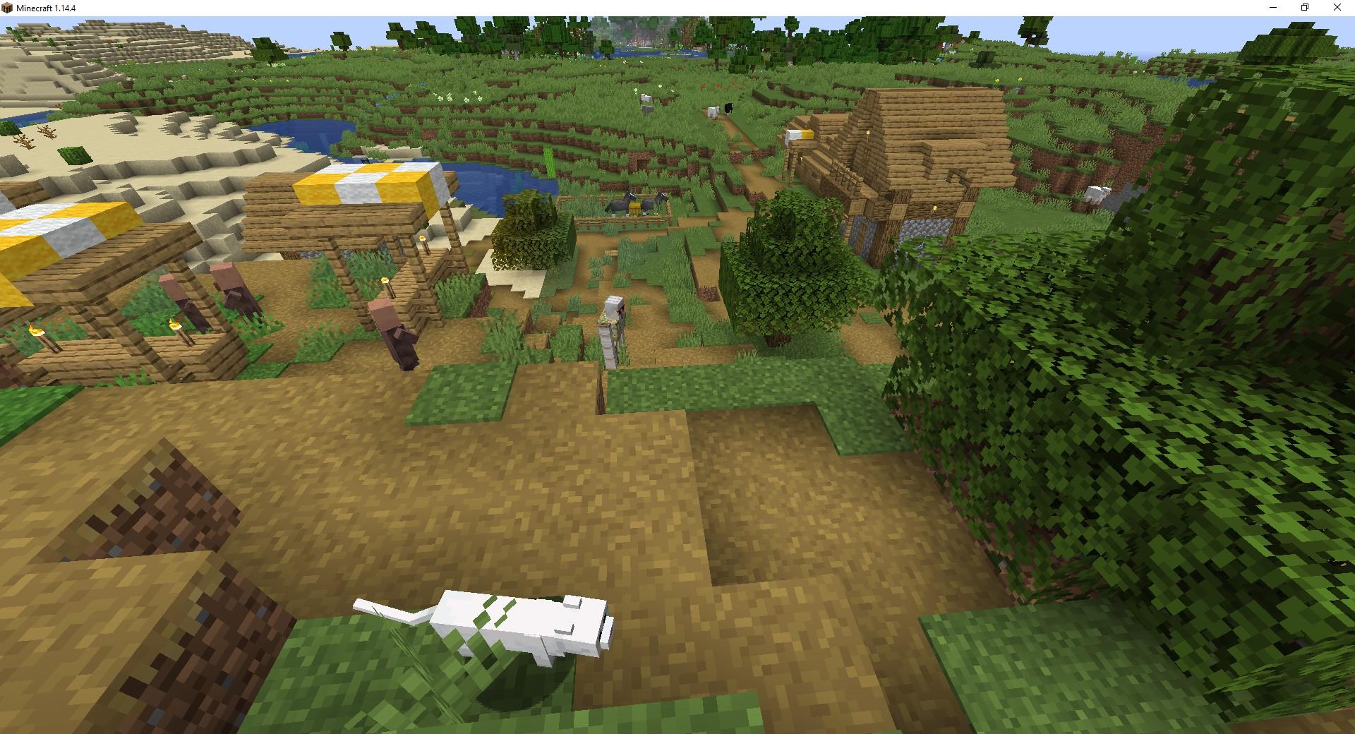 как создать новый мир с деревней в майнкрафте #11