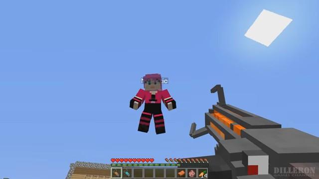 Мод «Gravity Gun» награви-пушку вМайнкрафт - скриншот 4