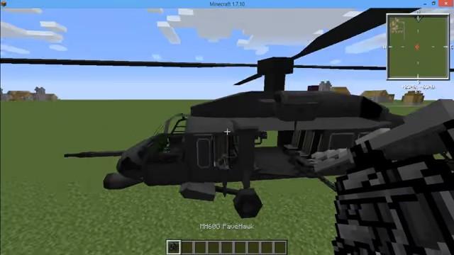 МодMC Helicopter навертолёты вМайнкрафт - скриншот 4