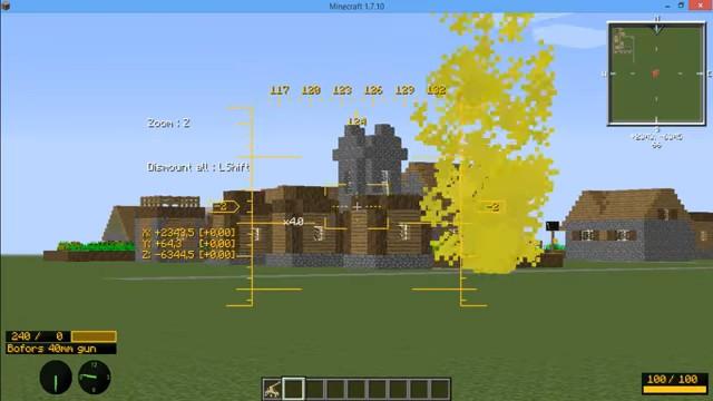 МодMC Helicopter навертолёты вМайнкрафт - скриншот 3