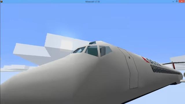 МодMC Helicopter навертолёты вМайнкрафт - скриншот 11