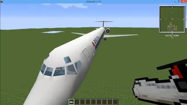 МодMC Helicopter навертолёты вМайнкрафт - скриншот 10