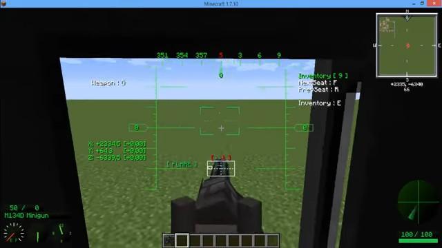 МодMC Helicopter навертолёты вМайнкрафт - скриншот 7