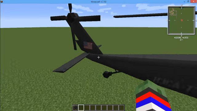 МодMC Helicopter навертолёты вМайнкрафт - скриншот 6