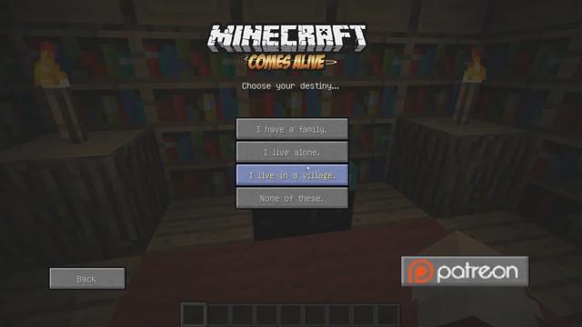 Мод «Minecraft Comes Alive»— Sims в Майнкрафт1.12.2/1.7.10 - скриншот 2