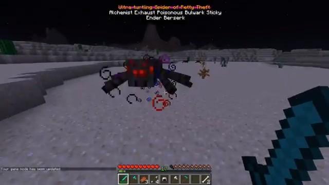 Мод набоссов Infernal Mobs - скриншот 1