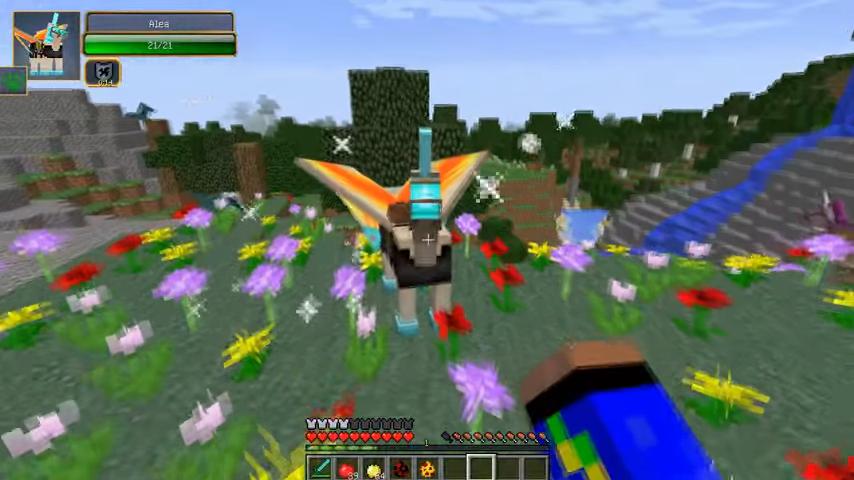 Мод на единорогов вМайнкрафт - скриншот 10