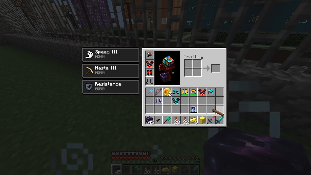 Мод накосмический лаки-блок (Аддон) - скриншот 13
