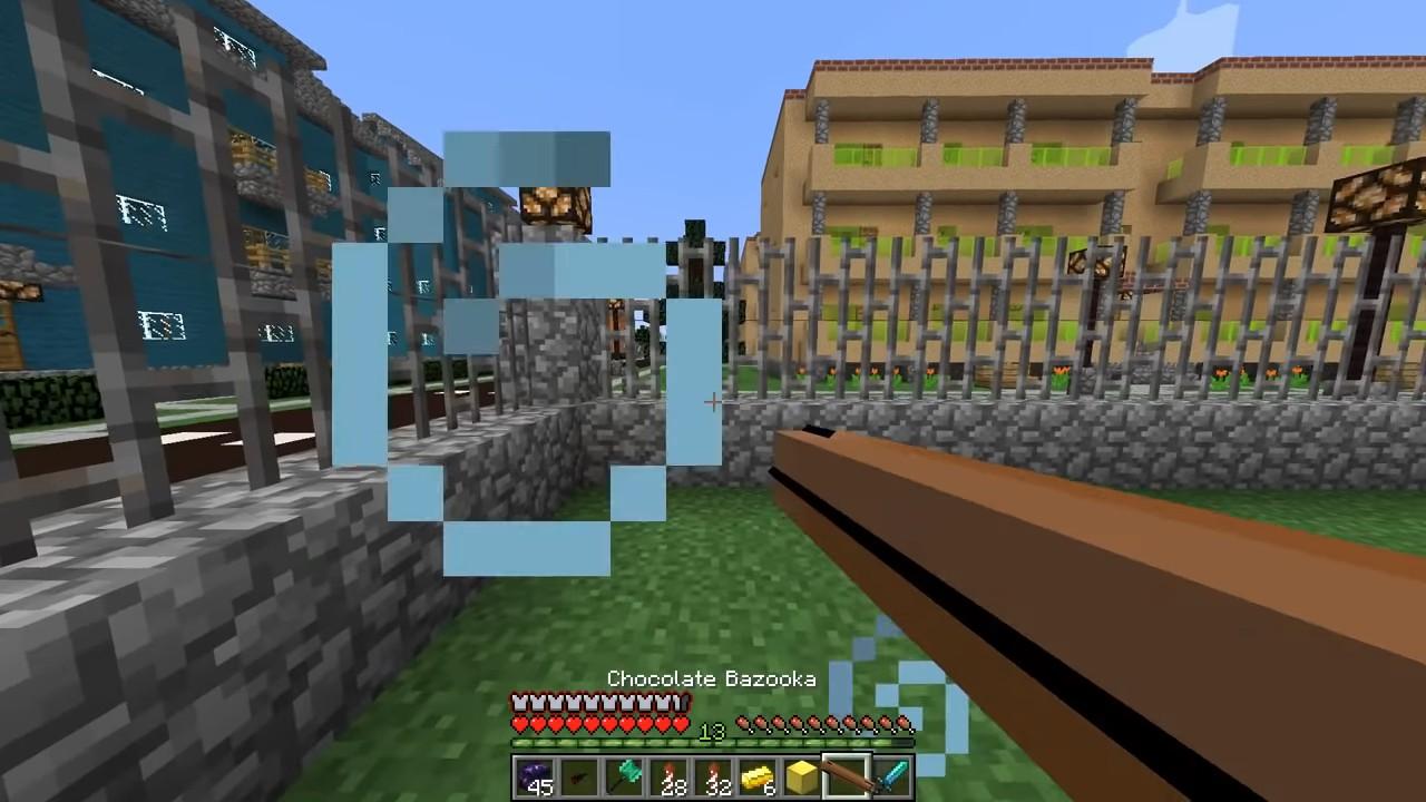 Мод накосмический лаки-блок (Аддон) - скриншот 1