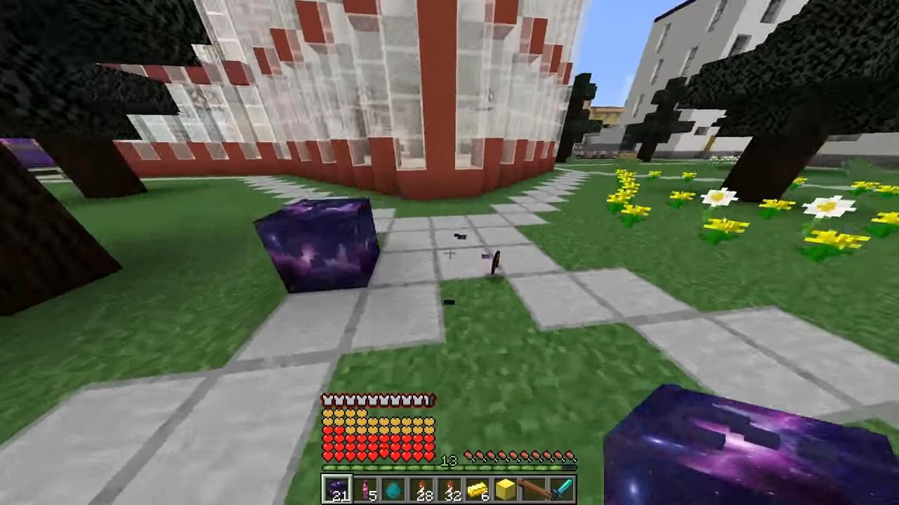 Мод накосмический лаки-блок (Аддон) - скриншот 14