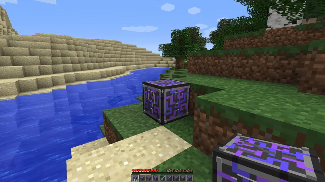 Мод на лаки-блоки будущего(Аддон) - скриншот 3