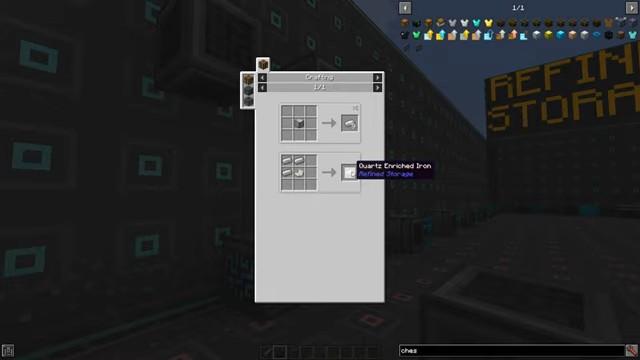 Мод Refined Storage на хранилище дляМайнкрафт - скриншот 2