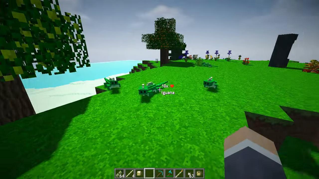 Мод Tropicraft - скриншот 10