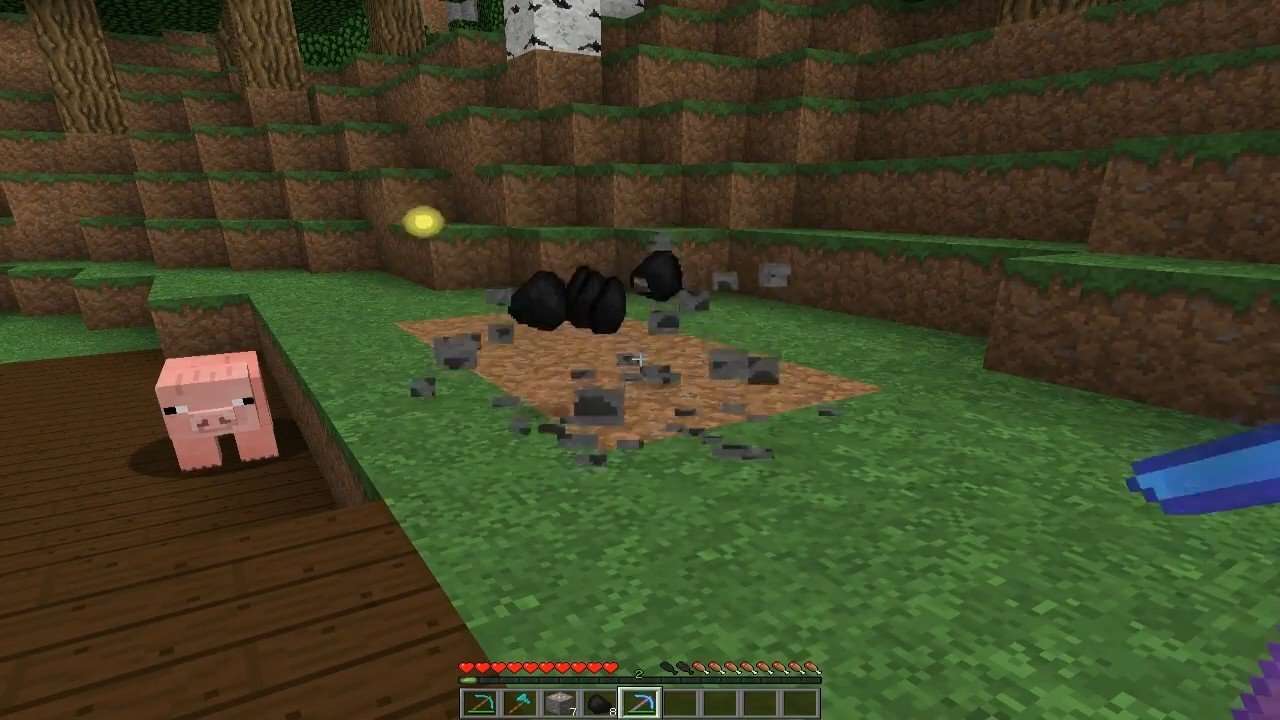 Мод «Быстрая добыча руды» - скриншот 6