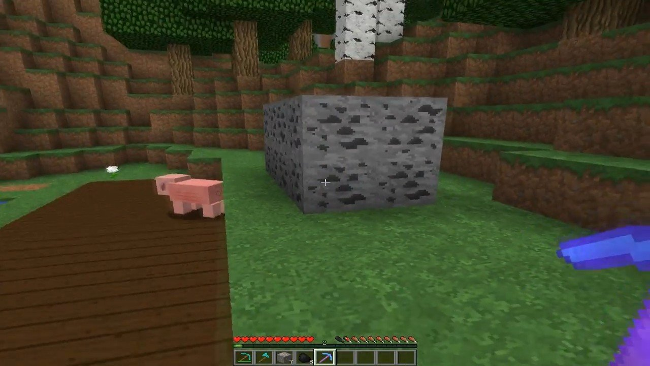 Мод «Быстрая добыча руды» - скриншот 5