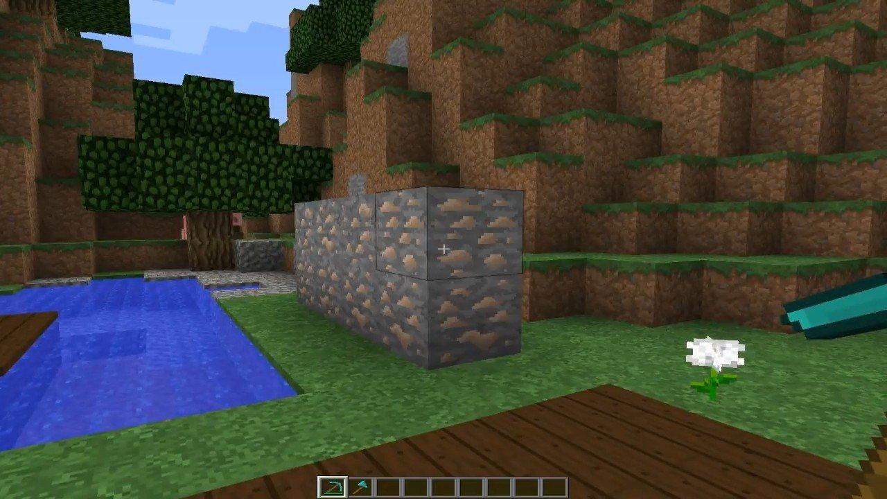 Мод «Быстрая добыча руды» - скриншот 1