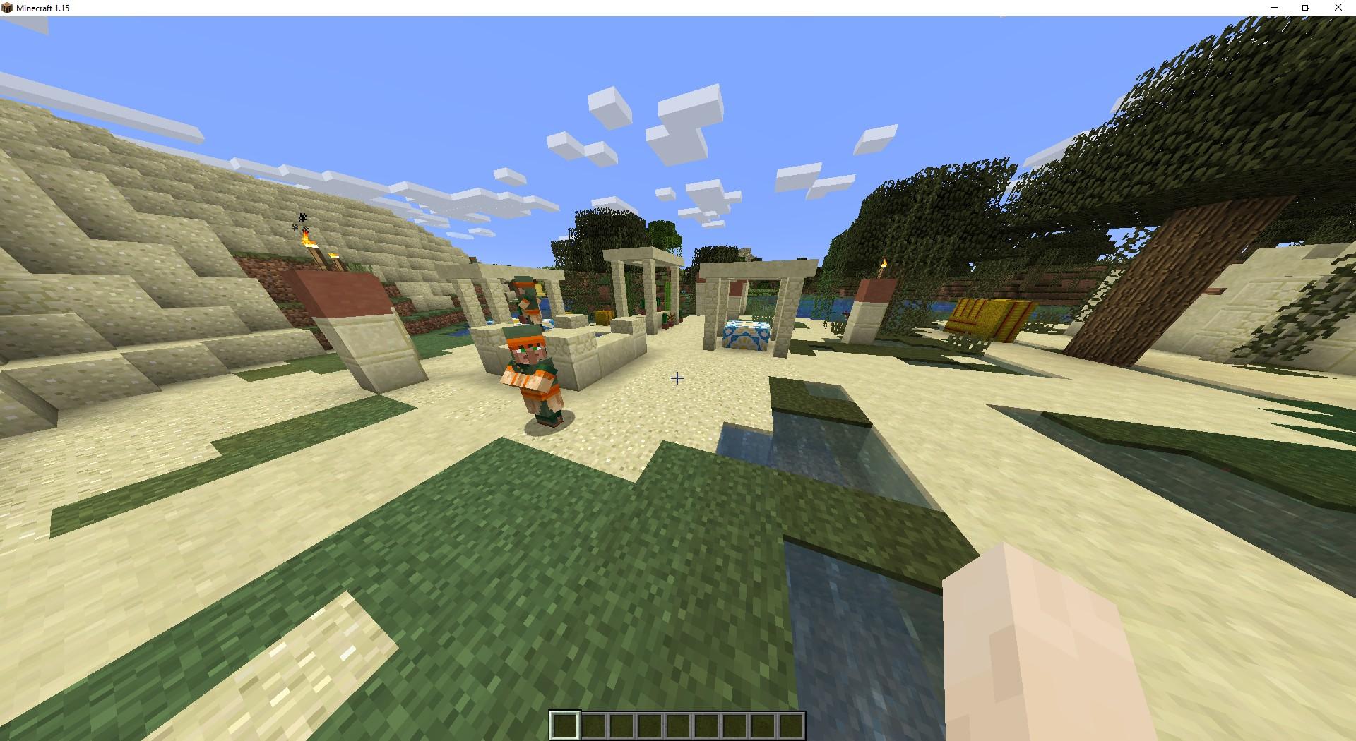 Сид «Деревня в пустыне и корабль» - скриншот 2