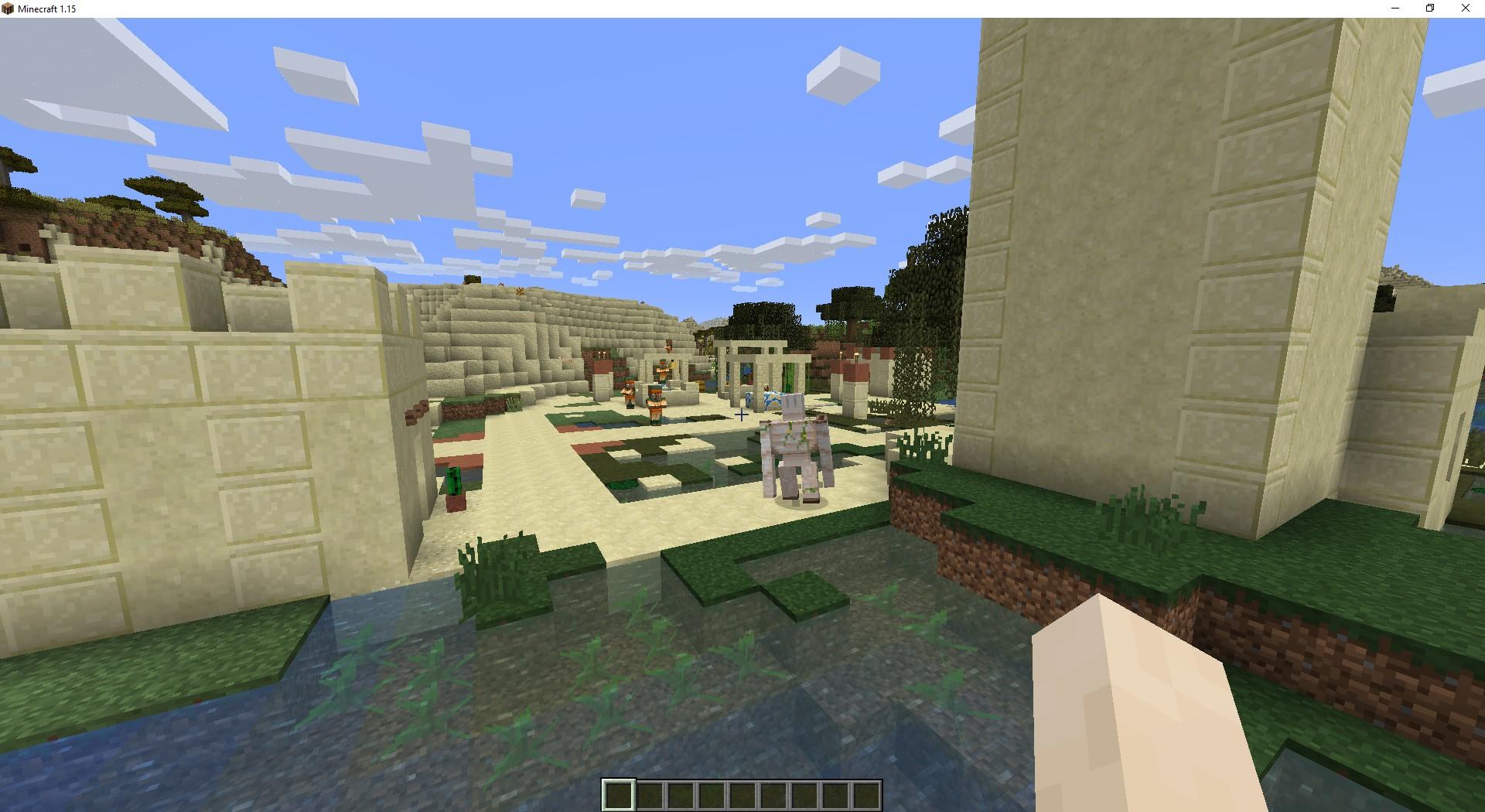 Сид «Деревня в пустыне и корабль» - скриншот 3