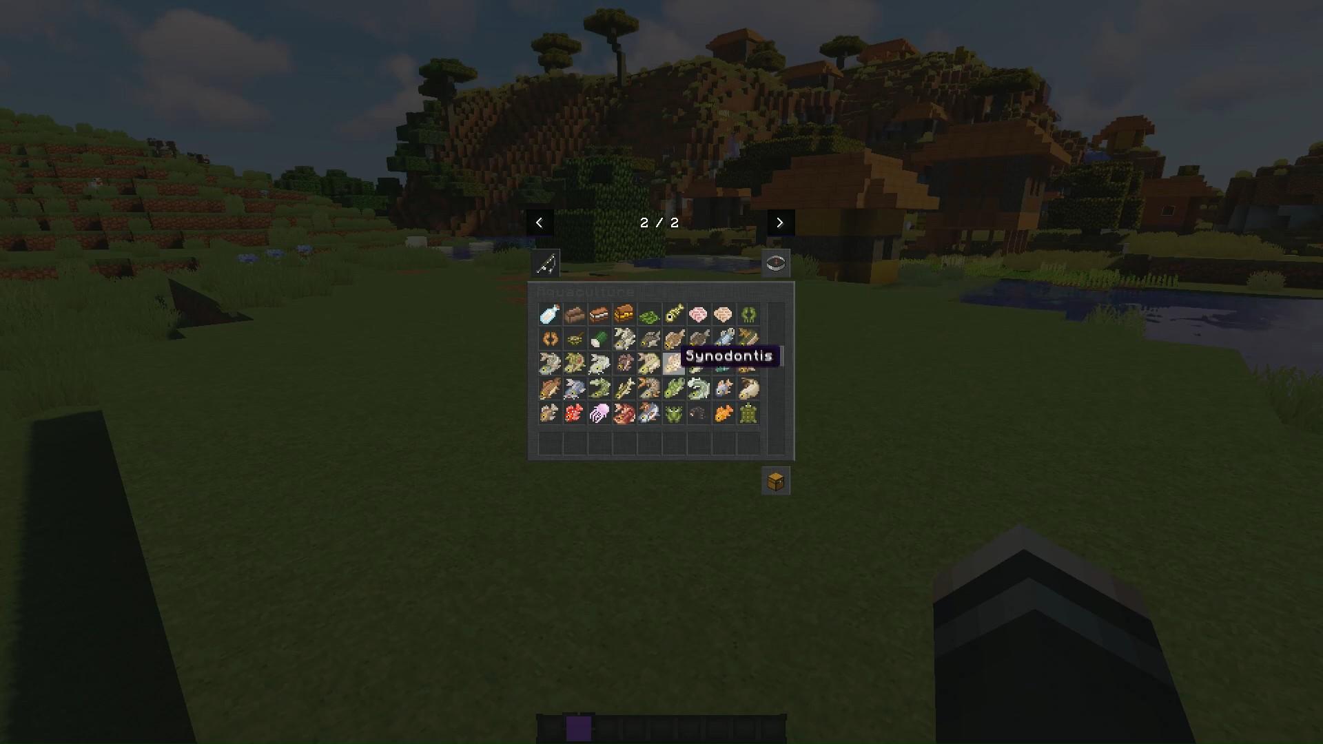 Мод Aquaculture (рыбалка) - скриншот 8