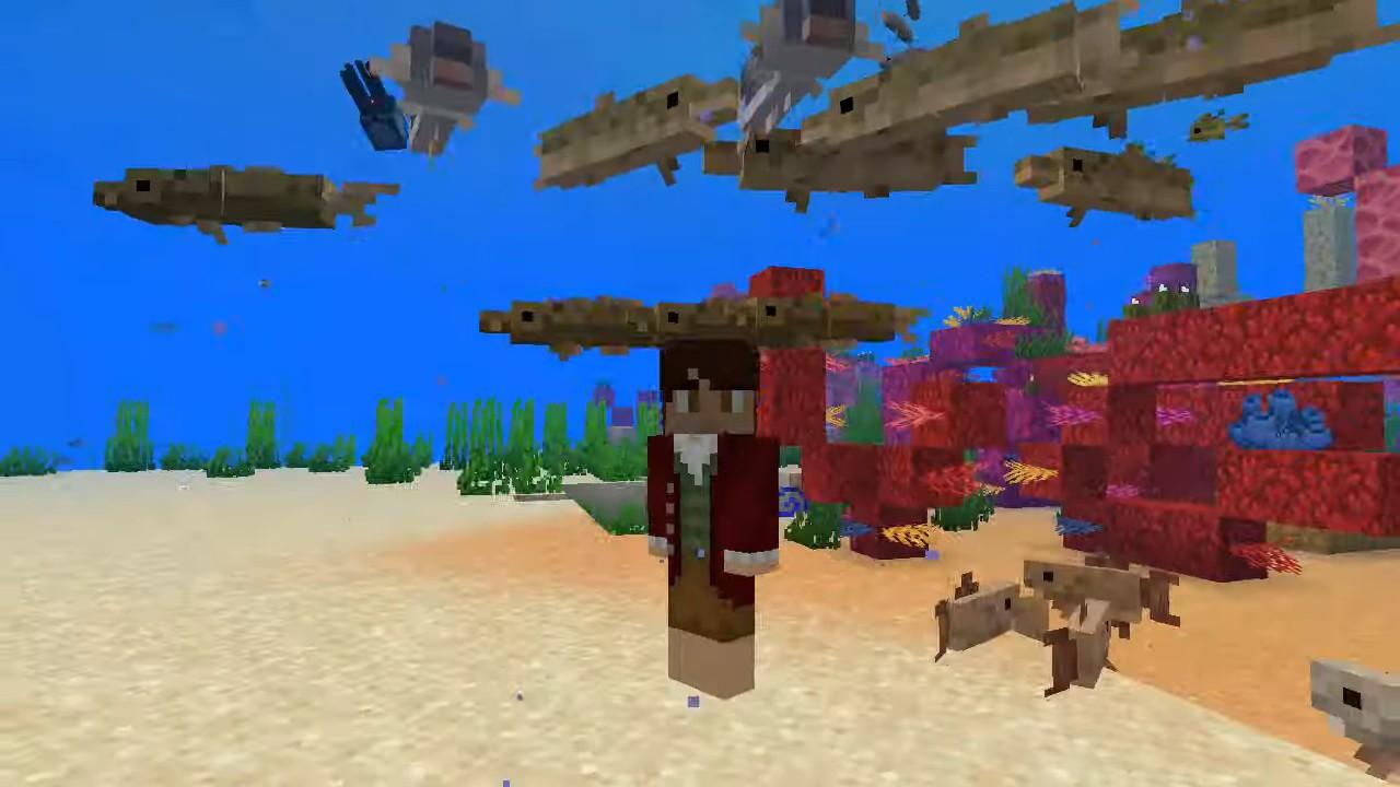Мод Aquaculture (рыбалка) - скриншот 1