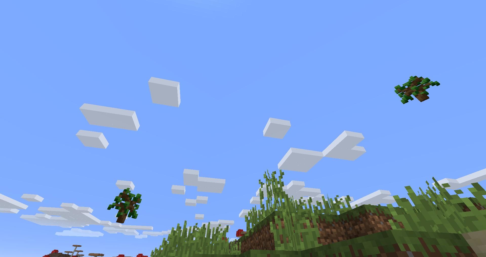 Мод «Быстрое опадение листвы» - скриншот 2