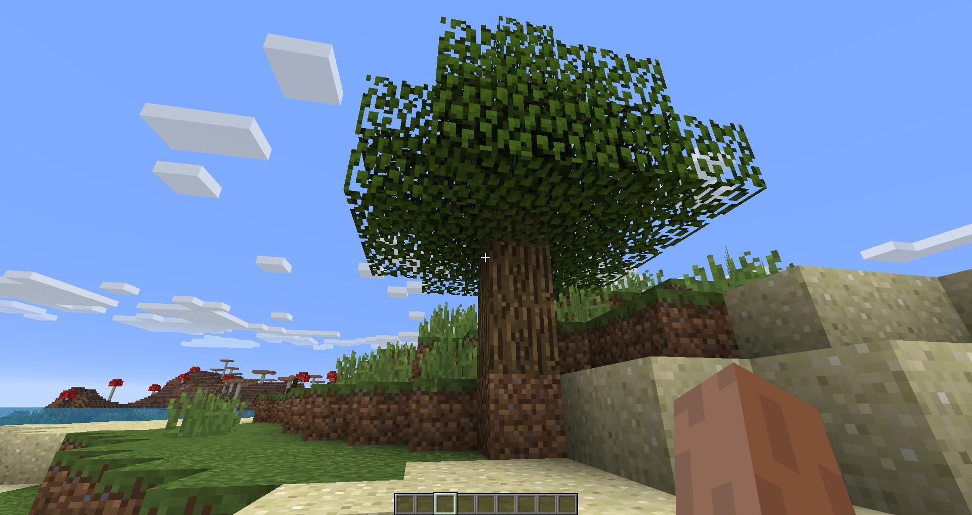 Мод «Быстрое опадение листвы» - скриншот 1
