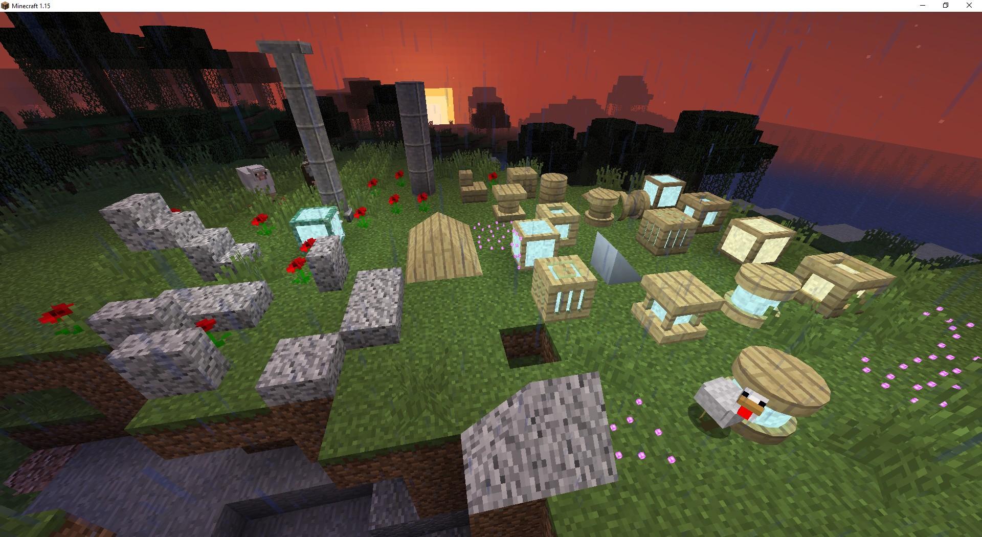 Мод Exotic Blocks— более 1000 строительных блоков - скриншот 2