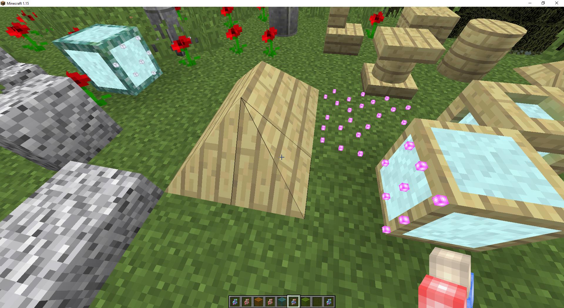 Мод Exotic Blocks— более 1000 строительных блоков - скриншот 4