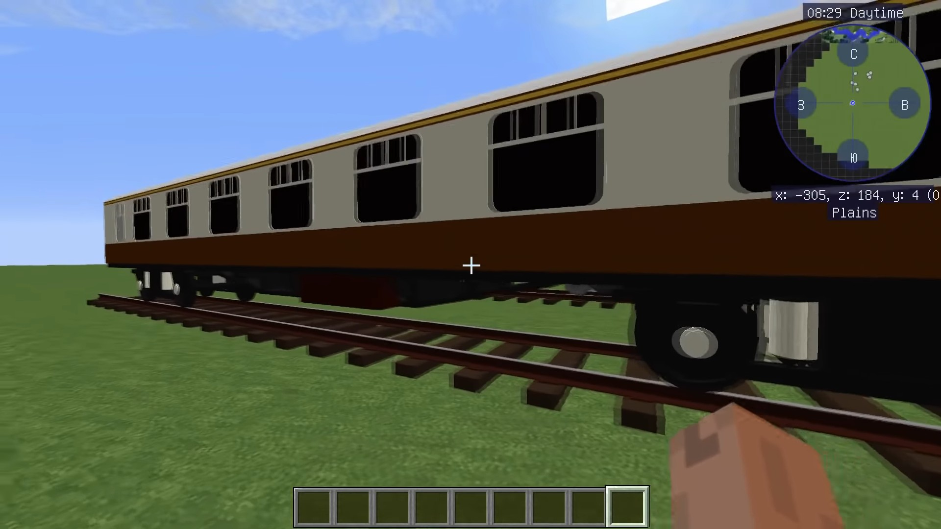 Мод Immersive Railroading - скриншот 5