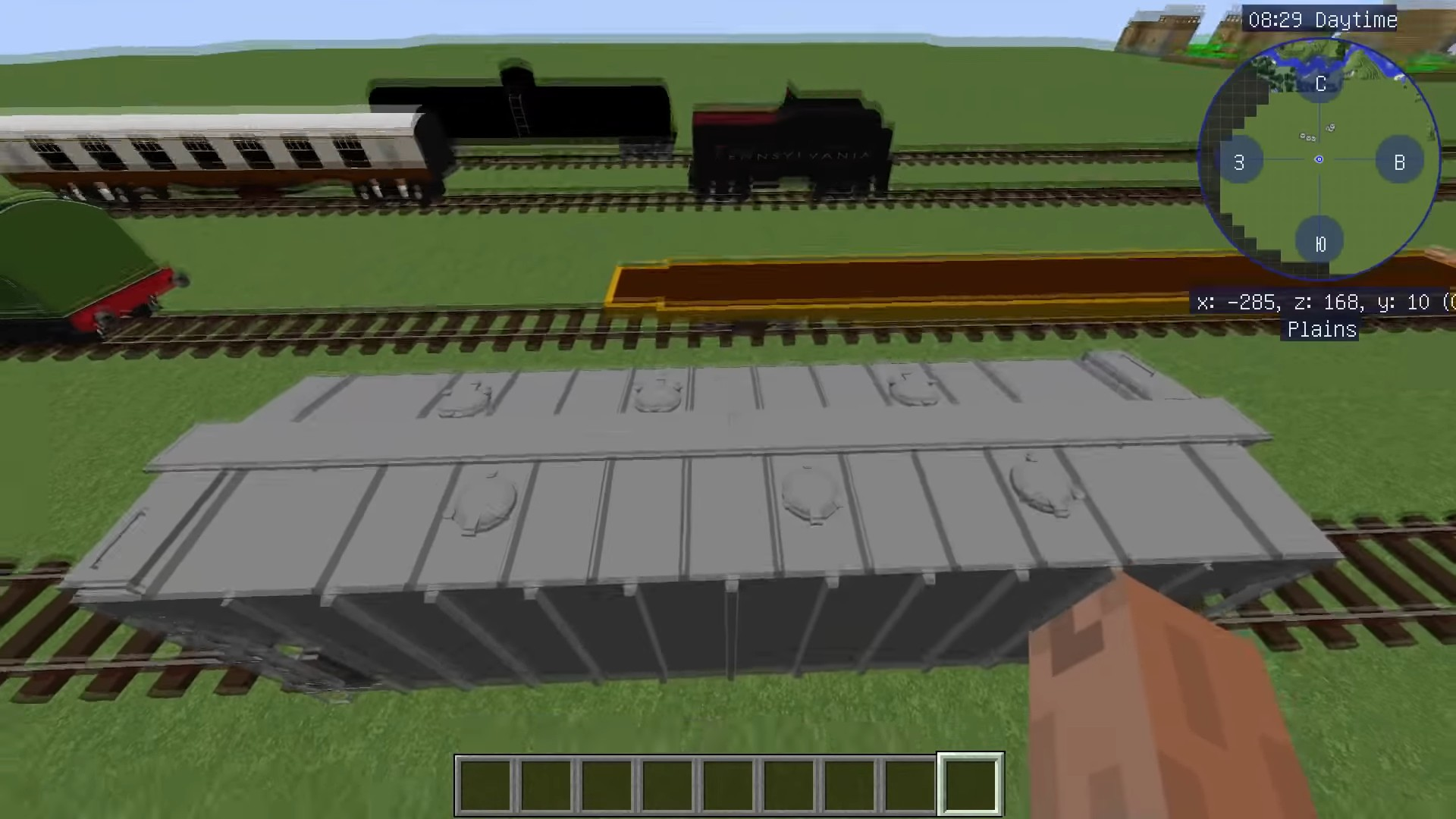 Мод Immersive Railroading - скриншот 4