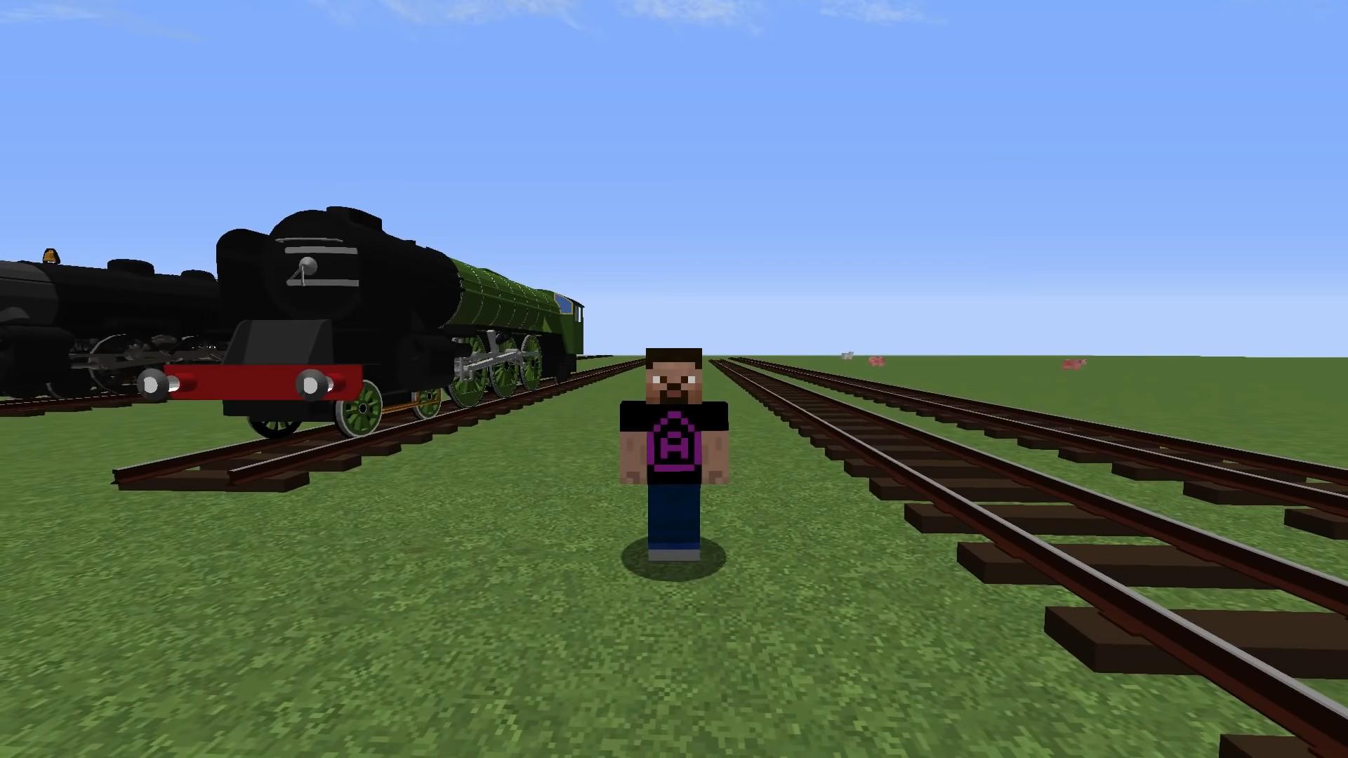 Мод Immersive Railroading - скриншот 1