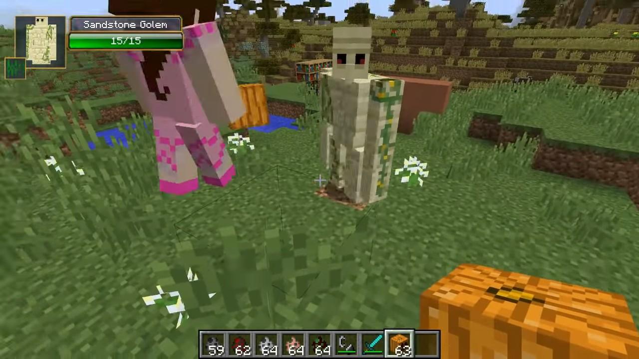 Мод на големов - скриншот 6