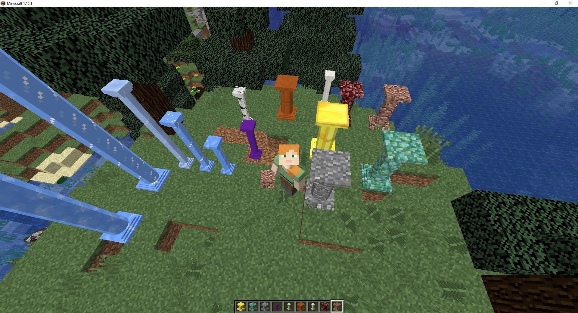Мод «Corail Pillar» (колонны) - скриншот 2