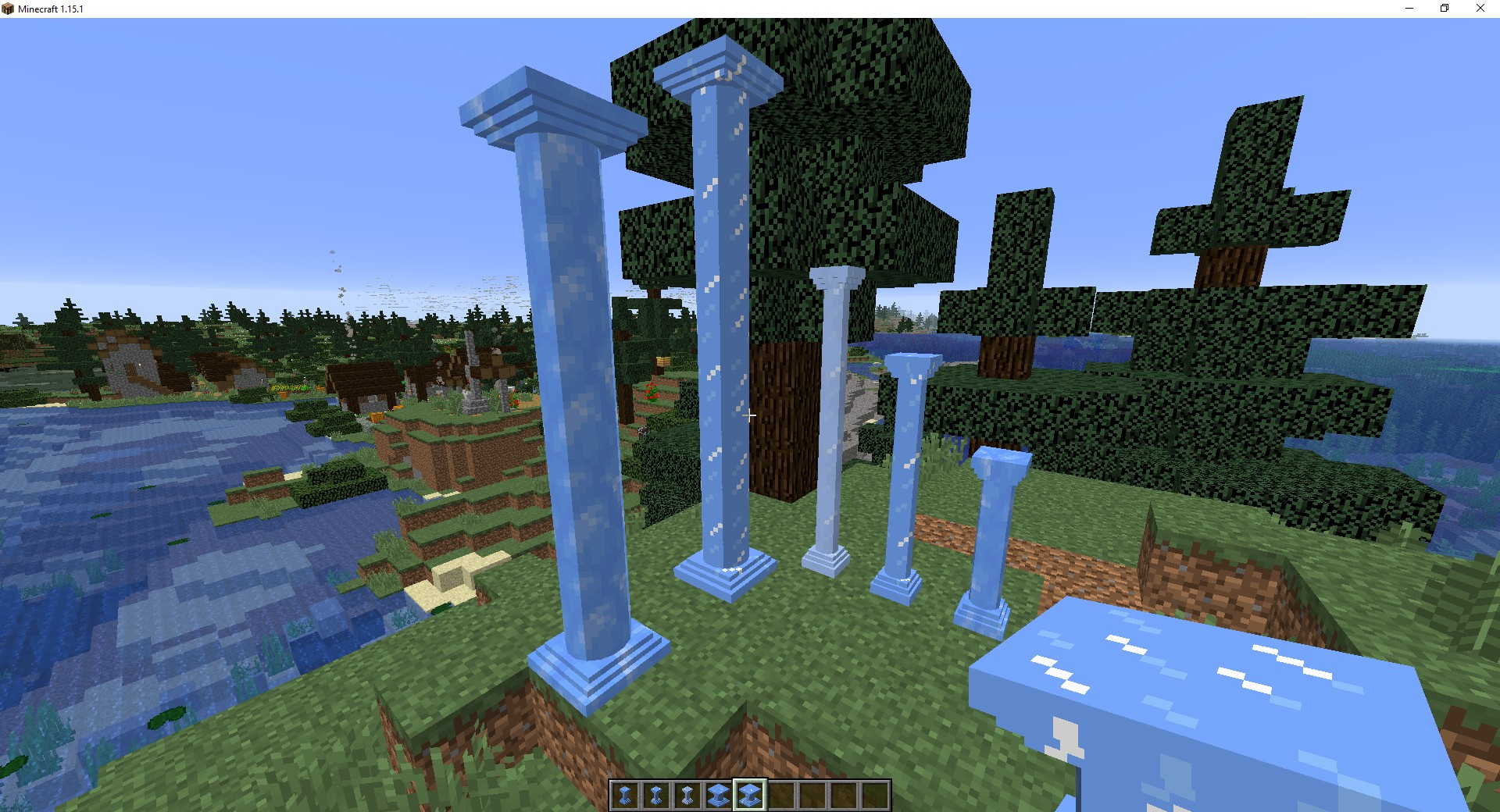 Мод «Corail Pillar» (колонны) - скриншот 1