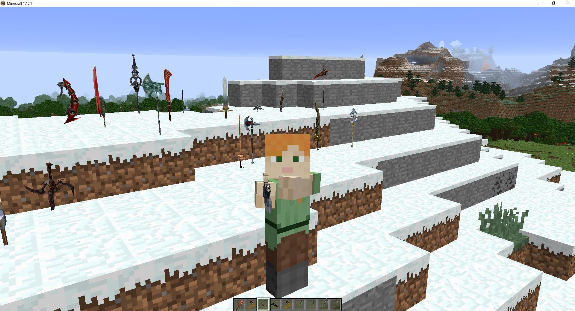 Мод «Магическое оружие имечи» - скриншот 8