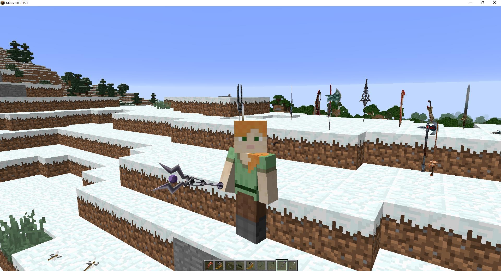 Мод «Магическое оружие имечи» - скриншот 2